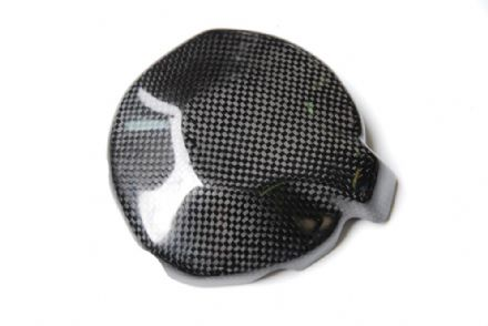 Lightech Carbon Fibre Clutch Cover Kawasaki ZX6R / 636 2009>